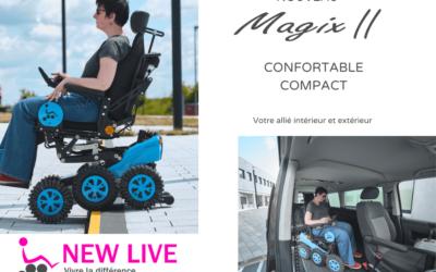 Le Magix 2 le fauteuil Ultra Compact