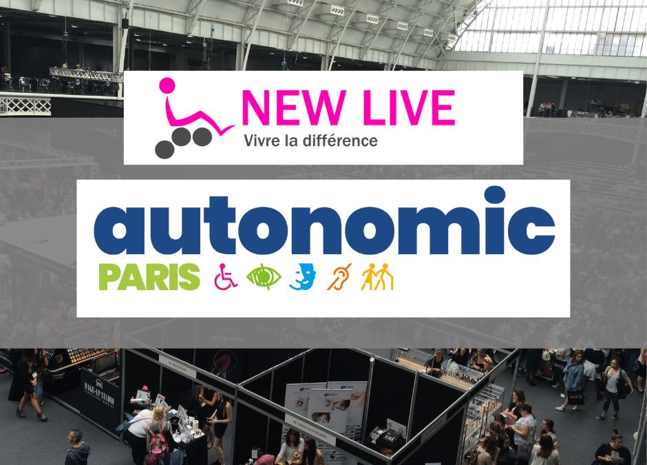 NEW LIVE au Salon Autonomic